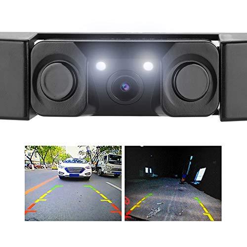 Tangxi Achteruitrijcamera voor kentekenplaat-parkeerhulp, 170 ° kijkhoek, universeel, IP67 waterdichte auto-kenteken-framecamera, auto-universele achteruitrij-assistent veiligheid