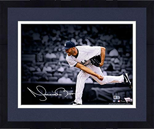 Framed Mariano Rivera New York Yankees Autographed 11