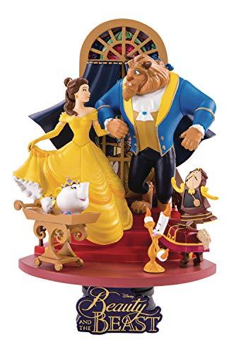 Beast Kingdom – Disney Diorama La Bella Y La Bestia, Multicolore (BKDDS-011)