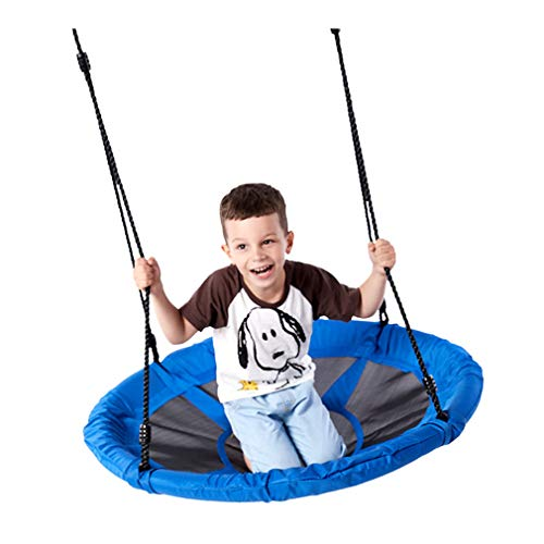 WWXXCC Nest Swing with 40' Diameter, Kids Round Web Swing,Spinner Swing for Kids Children Adult Outdoor Backyard Garden