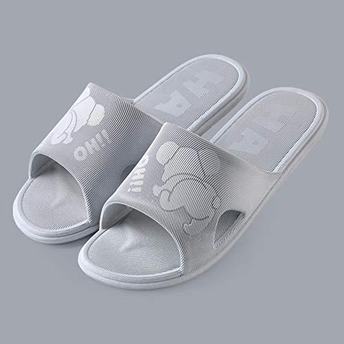 Nieuwe stijl sandalen en slippers voor heren zomer indoor antislip dikke bodem woninginrichting zachte bodem comfortabel bad-38/39