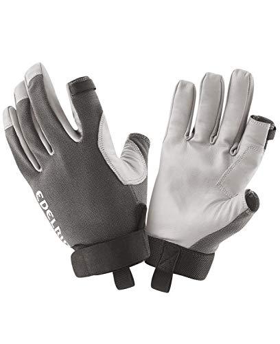 EDELRID Unisex– Erwachsene Work Glove Closed II, Titan, XL