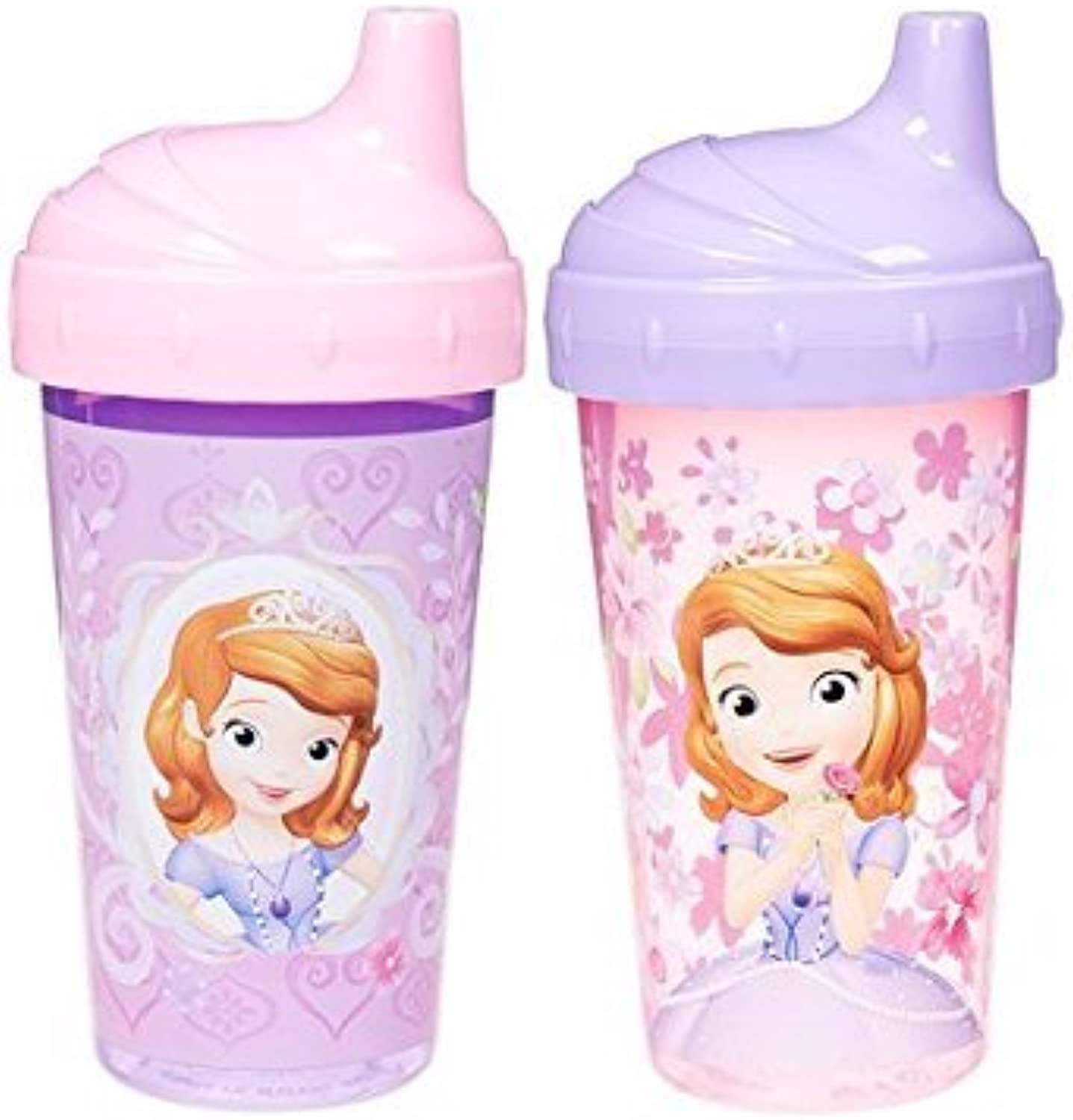 HuSuper Disney Sofia The First Sippy Cups