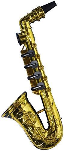 Forum Novelties 65263 Party Supplies Saxophon Kazoo, Gold, Standard