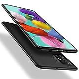 X-level Funda Samsung Galaxy A51 4G, Carcasa para Samsung Galaxy A51 Suave TPU Ultrafina Suave Silicona Anti arañazos, Protección a Bordes y Cámara, Case para Samsung Galaxy A51 - Negro