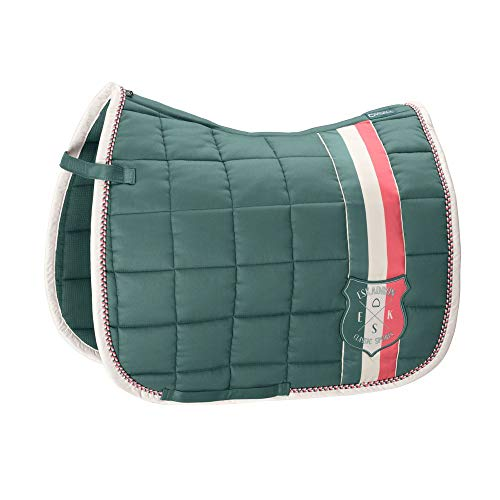 ESKADRON Schabracke Big Square Cotton (Classic Sports Frühjahr-So, seapine green, Dressur