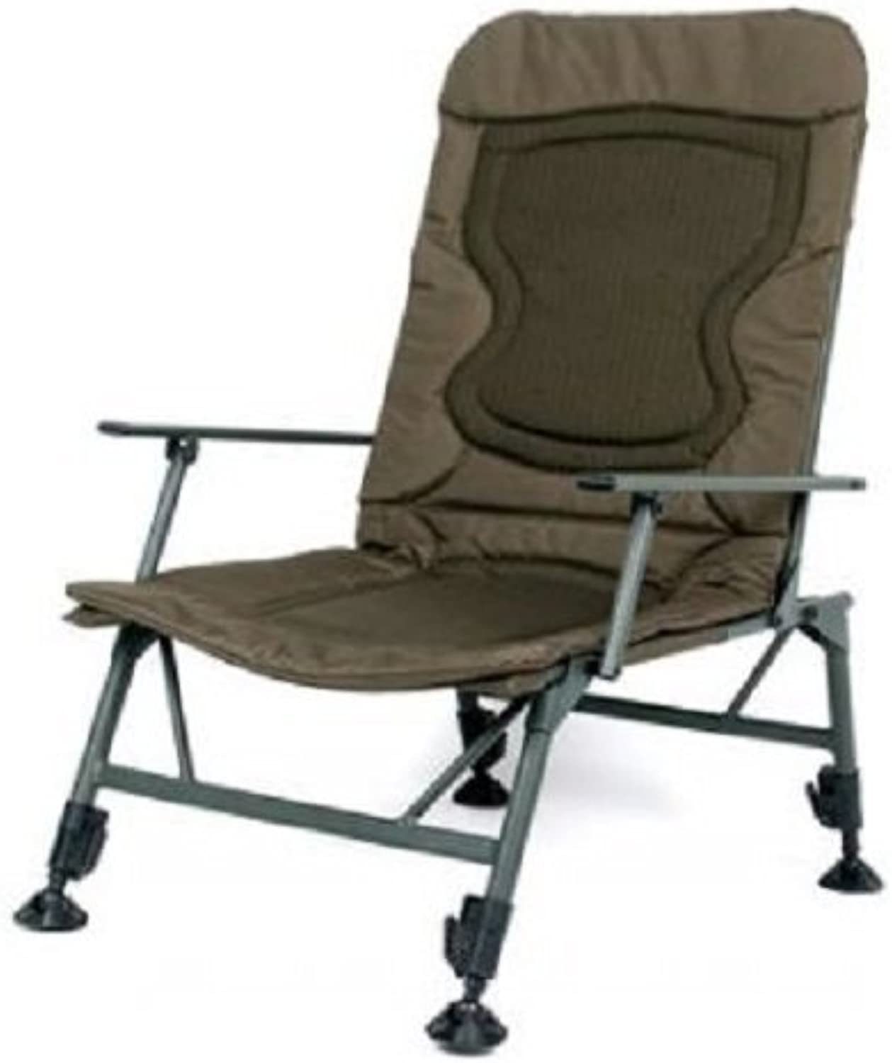 Nash KNX Armchair Wide Boy T4344 Stuhl Karpfenstuhl Sitz Angelstuhl Carpchair Chair