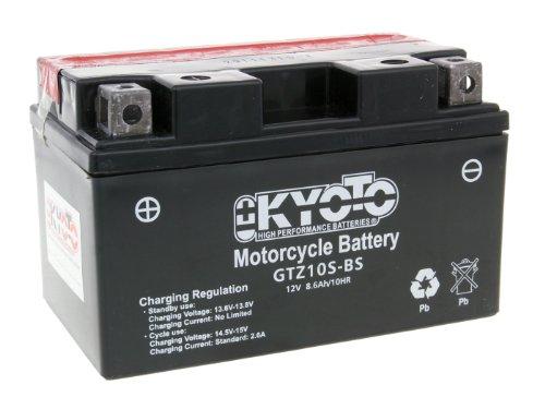 Batterij Kyoto 12V GTZ10S-BS MF onderhoudsvrij - Verkoopprijs inclusief 7,50 EUR wettelijke garantie