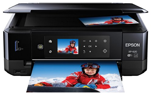 Epson Expression Premium XP-620 Wireless Color Photo Printer with Scanner and...