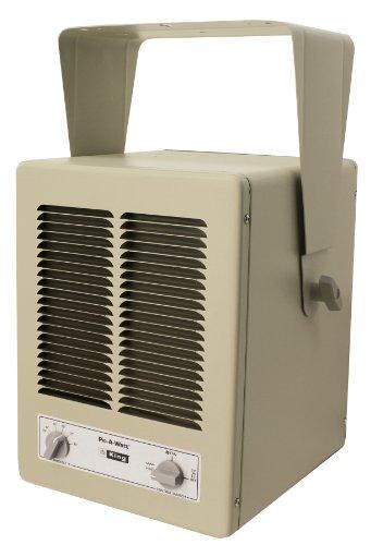KING KBP2406 KBP Multi-Wattage Compact Unit Heater, 5700W / 240V / 1 Ph, Almond