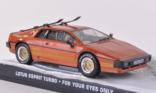 Lotus Esprit Turbo, le cuivre, James Bond 007, voiture miniature, Miniature déjà montée, SpecialC.-007 1:43