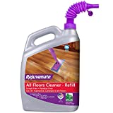 Rejuvenate High Performance All-Floors and Hardwood No Bucket Needed Floor Cleaner With Spout Powerful PH Balanced Shine with Shine Booster Technology Low VOC Best in Class Products 128oz