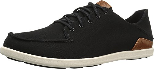OluKai Manoa Men's Sneakers Black/Mustard - 11