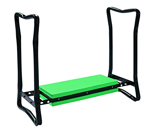 Gardman - 34599, Poggia ginocchia + Sedile per giardinaggio, pieghevole