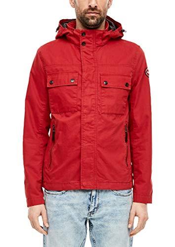 s.Oliver Herren Canvasjacke im Field-Style red XXL