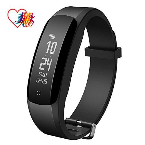 Mpow fitness tracker, cardiofrequenzimetro Smart braccialetto attività Tracker Bluetooth contapassi con Sleep monitor Smartwatch per iPhone Samsung e altri smartphone Android o iOS