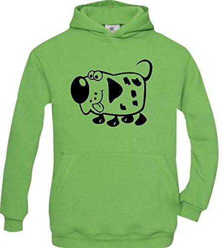Shirtstown - Sweat-shirt à capuche - Col Rond - Manches Longues - Garçon - vert - 14 ans