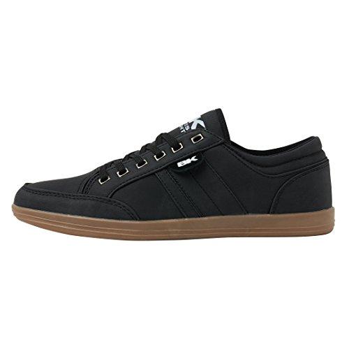 British Knights Herren KUNZO Sneaker, Schwarz (Black/Crepe), 42 EU