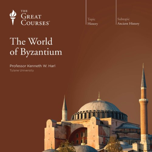 The World of Byzantium audiobook cover art