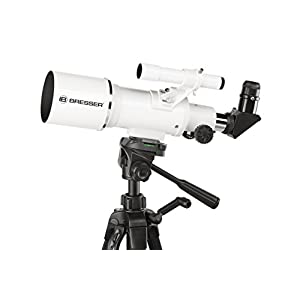 Bresser Classic 70/350 Refractor Telescope with Aluminium Mount and Smartphone Holder