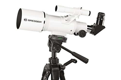 Bresser Classic 70/350 Refractor Telescope with Aluminium Mount and Smartphone Holder