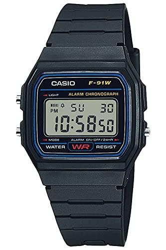 [カシオ] 腕時計 カシオ コレクション F-91W-1JH メンズ ブラック