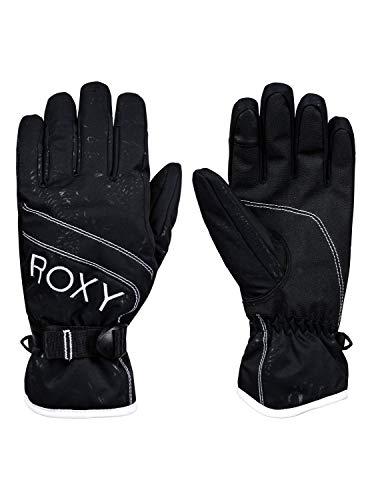 Roxy Roxy Jetty - Guantes para Esquí/Snowboard para Chicas Guantes para Snowboard/Esquí, Mujer, True Black, L