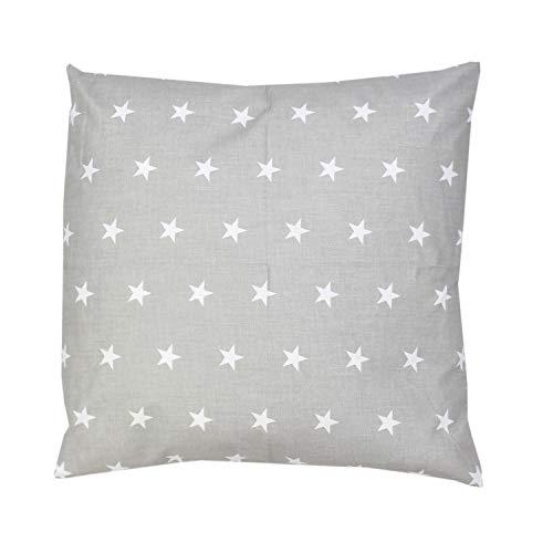 TupTam Kissenbezug Gemustert, Farbe: Muster 13, Größe: 80x80 cm