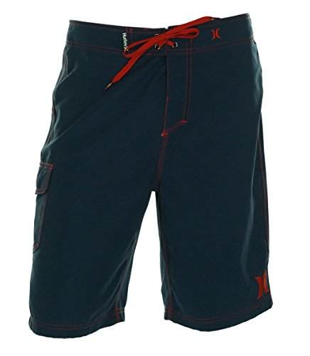 Hurley Men's One and Only 22-Inch Boardshort, Mid Navy H 1, 33