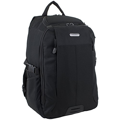 Fuel Laptop Backpack for School, Travel, Carry-On, TSA, Scansmart, Fits up to 15-Inch Laptop, Black