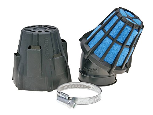 Luftfilter Polini Blue Air Box 46mm 30° schwarz-blau