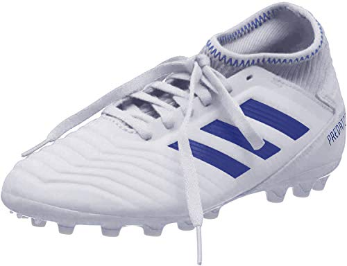 adidas Predator 19.3 AG J, Zapatillas de Fútbol para Niños, Multicolor (FTWR White/Bold Blue/Bold Blue D98010), 38 2/3 EU