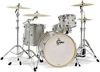 Gretsch Drum Set, Silver Sparkle (CM1-E824S-SS)