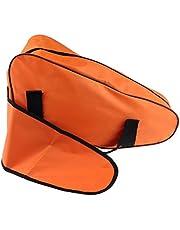 Draagtas, kettingzaagtas van Oxford-doek, keuze uit verschillende kleuren, oranje 56 cm