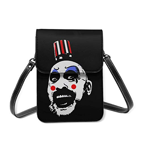 XCNGG Captain Spauldings Fried Chicken Crossbody Cell Phone Purse - Women Pu Leather Multicolor Handbag With Adjustable Strap