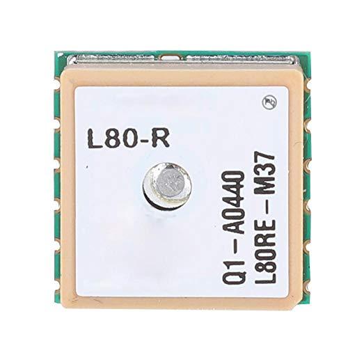 Bewinner Modulo GPS, Modulo GPS Lcc 15 * 15 * 4mm con Antenna Patch Integrata per Micro Dispositivi per Ricevitori GPS e Applicazioni OBD, Supporto Automatico Agps/Pps e Sincronizzazione Nmea