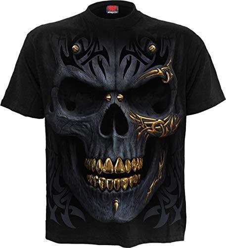 Spiral - Black Gold - T-Shirt - Schwarz - XXL