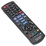 New N2QAYB000727 Replace Remote Control fit for Panasonic Blu-ray Disc Home Theater Sound System SC-BTT196 SA-BTT190 SA-BTT195 SA-BTT196 SA-BTT490 SB-HC490 SB-HF490 SB-HS290 SB-HW490 SC-BTT190