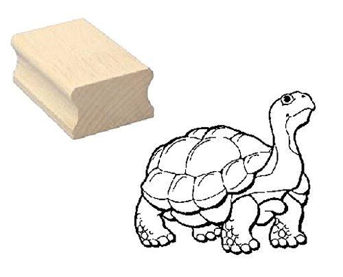 Schildkröte Stempel Holzstempel Motivstempel - Kinderstempel