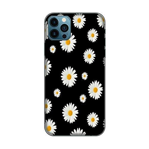 Funda iPhone 12 Carcasa compatible con Apple iPhone 12 flore