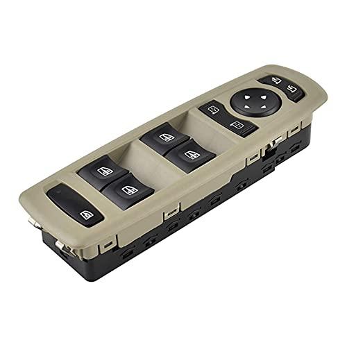 XINGXING WTQEE Store Coche Master Power Window Spirmit Switch 7700817337 80961000 6R 254000015R Ajuste para Renault Fluence Megane Laguna 3 2008-2016 (Color Name : Black)