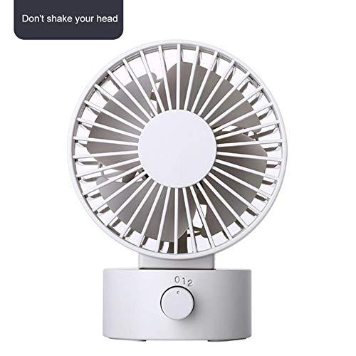 Bhu Mini ventilatore USB di raffreddamento ventilatore da scrivania rotabile forte vento elettrico piccolo ventilatore estivo G272717a.