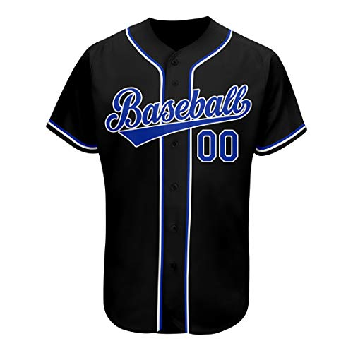 Custom Students' Baseball Jersey Embroidered, Design Sportwear with Team Players' Name,Numbers Big Size