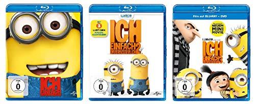 Ich - Einfach unverbesserlich 1+2+3 im Set - Deutsche Originalware [6 Blu-rays]