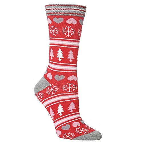 Unisex Casual Christmas Cute Cartoon Socks,Acrylic Animal Thickness Stockings,Sleeping Socks (D)