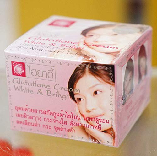HIYADY Cream (Pink) Enriched with Hyaluron-glutathione extract Reveals bright, radiant skin like a Korean girl. Reduces freckles, dark spots 10 g.