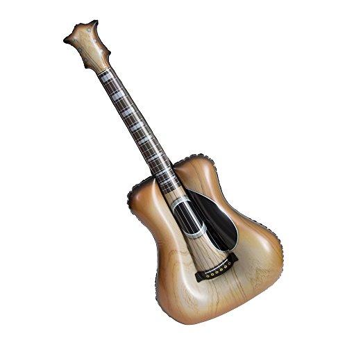 Unique Party - Guitarra Acústica Inflable - 96 cm (90655)
