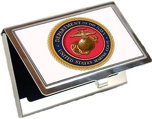 United States Marines Logo Business Card Holder