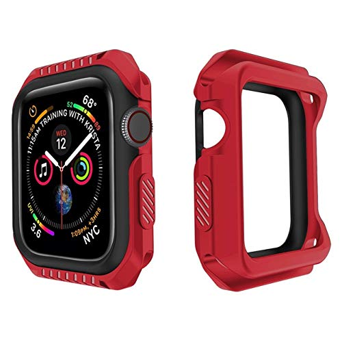 Funda de reloj para Apple Watch 5 4 3 2 1 42MM 38MM Marco suave Parachoques protector completo para Apple Watch Series 6 SE 5 44MM 40MM