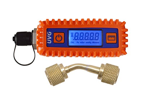 Uniweld UVG Digital Vacuum Gauge & Adaptor